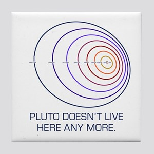 Pluto Lives Tile Coaster